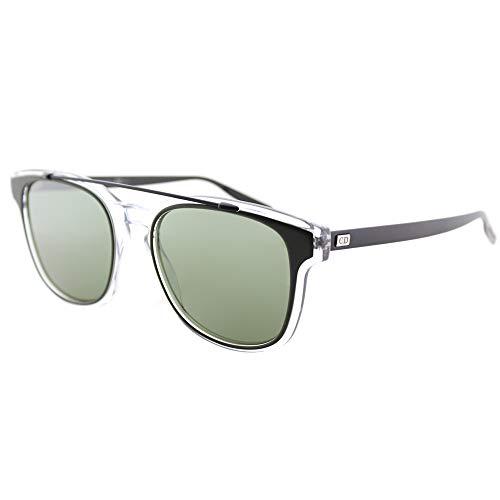 Dior Homme Black Tie 211S Khaki Crystal Black Frame /Green Lens ()