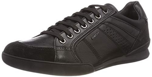 Schwarz Geox Sneaker U C9999 A Kristof Herren Black wXwU7r