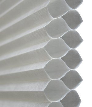 Made-to-Order Double Cell Shades, 1/2 Inch Double Honeycomb Shades, 84W x 63H, Apple Blossom