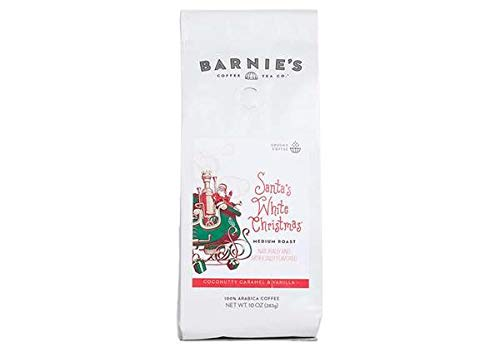 White Christmas Images Free.Barnie S Santa S White Christmas Ground Coffee Coconut Caramel And Vanilla Flavored Coffee Nut Free Gluten Free Fat Free Medium Roasted