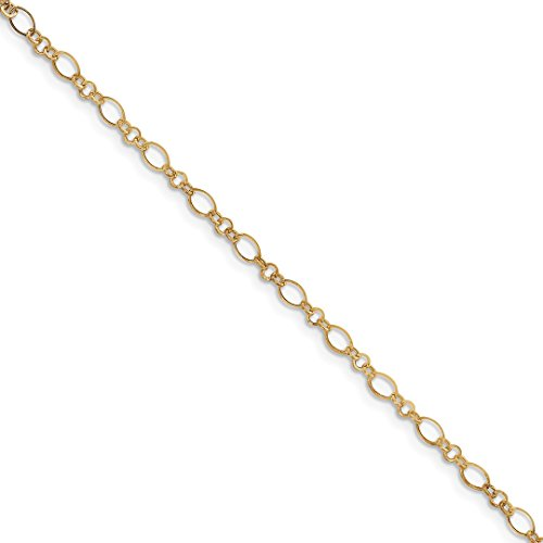 ICE CARATS 14kt Yellow Gold 9 Inch 1 Adjustable Chain Plus Size Extender Anklet Ankle Beach Bracelet Fine Jewelry Ideal Gifts For Women Gift Set From Heart 14kt Gold Elephant Bracelet