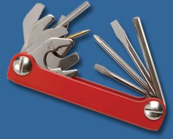 Stainless Scuba Steel Master (Innovative Scuba Tool Master Plus / Stainless Steel Construction, TM0405)