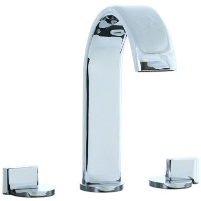 Techno M3 Widespread Double Handle Deck Mount Roman Tub Faucet Trim Finish: Polished Chrome