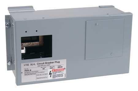 Bus Plug Encl, 60A, 120/240V, 4Pl, 4W, 1Ph, XQ