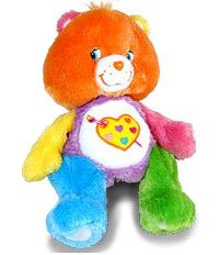 Care Bear Floppy Pose w/DVD Work of Heart by Play Along