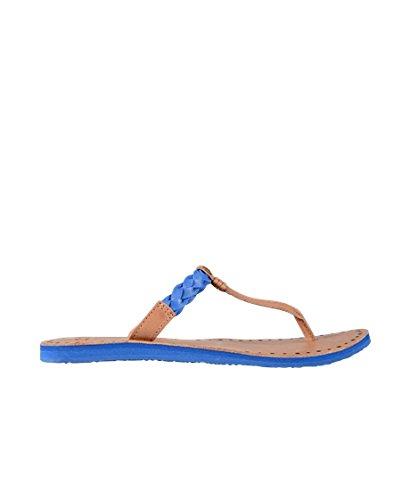 46ed7f2f0e UGG Damen Sandalen Flip Flops Leder Braun Blau: Amazon.de: Schuhe ...