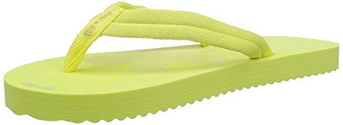 flip*flop Slim Tex - Sandalias de dedo Mujer amarillo