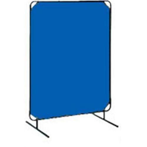 Tillman 60410610 6'X10' 14mil. 1 Panel Blue Vinyl Welding Curtain with