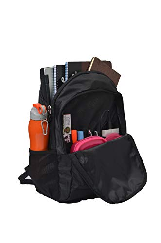 F Gear Bi Frost 25L Casual Backpack(Black T Blue)