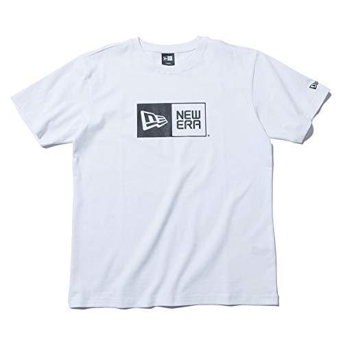 (ニューエラ) NEW ERA Tシャツ BOX LOGO BASIC ホワイト L