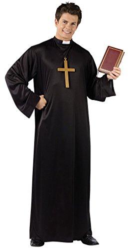 Priest Adult Costume (Standard) - Priest Costume Funny