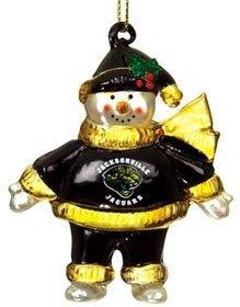 Jacksonville Jaguars Snowman Christmas Ornament
