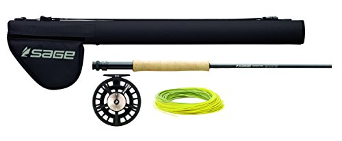 - Sage Fly Fishing 590-4 Foundation Outfit 5WT 9' (4 Piece)