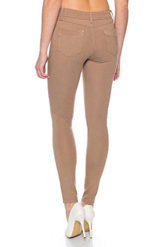 Beige Benk Jeans Donna Jeggings Jeans Benk Donna Jeggings F06RWqnZ