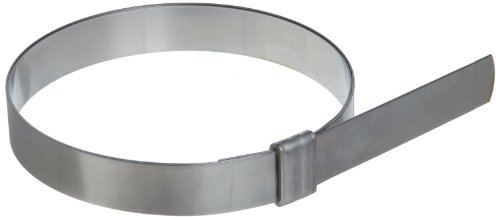 BAND-IT JS2129 Junior 3/4'' Wide x 0.030'' Thick, 3-1/2'' Diameter, 201 Stainless Steel Smooth I.D. Clamp (50 Per Box) by Band-It