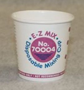 (E-Z Mix Disposable Mixing Cups and Lids 1/4 Pint Cups, 400 (EZX70004) Category: Mixing Cups and Lids)