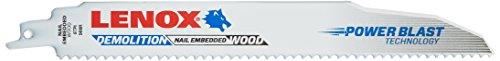 Tools 20523B966R Demolition Reciprocating Saw Blade-B966R 6 Teeth Per Inch, 9-Inch, 25-Pack ()