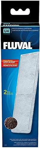 (Fluval U4 Filter Media Poly/Clearmax Cartridge, 2 Count, 12)