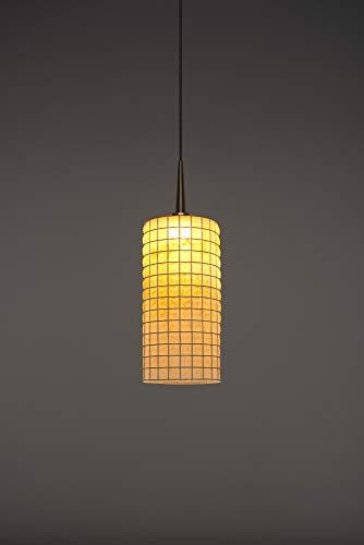 (Bruck Lighting 223114bz/MP Sierra 1 LED Pendant with 4