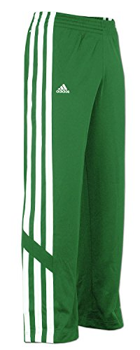 adidas E-Kit Snap Pant Herren Trainingshose Jogginghose Basketball Hose (Grün, 3XL)