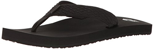 Reef Men's Smoothy, Black, 8
