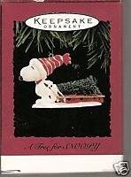 Hallmark A Tree For Snoopy 1996 Ornament -