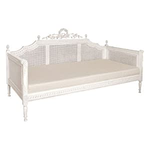 nantucket chateau white daybed bed french shabby chic. Black Bedroom Furniture Sets. Home Design Ideas