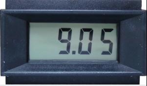 - 3-1/2 Digit LCD Panel Meter - Enhanced Common Ground Version (PM-128E)