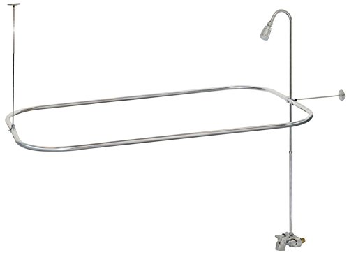 Bathcock Type Portable Aluminum Add On Shower Unit
