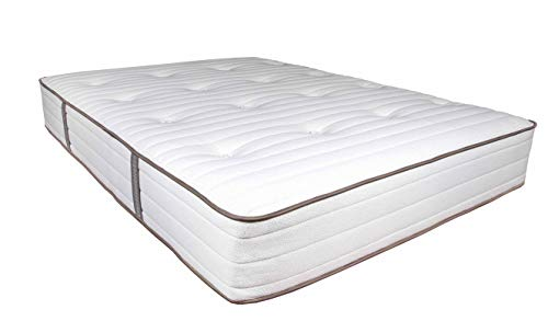 My Green Mattress - Natural Escape - GOTS Organic Cotton, Natural Eco-Wool and GOLS Certified Organic Latex - Medium Firm Mattress (Queen) Made in The USA