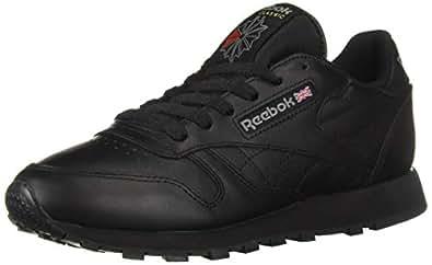 Reebok Mens - Classic Leather Black Size: 5