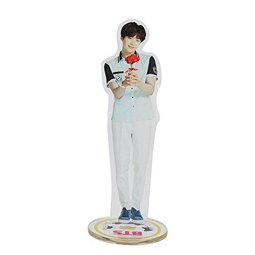 Youyouchard BTS Bangtan Boys Mini Humanoid Toy Office Home Decor Art Decoration Suga Jin Jung Jook Jook J-Hope Rap-Monster (1st Generation to 5th Generation)( 4th Generation SUGA)