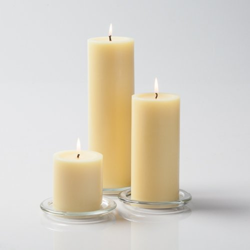 Richland Ivory Pillar Candles Set of 36 by Richland