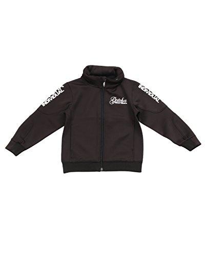 (ガッチャ ゴルフ) GOTCHA GOLF ジャケット キッズ ボリューム スタンドジャケット [撥水加工] 子供服 ボーイズ 173GG3300 ブラック 130cm