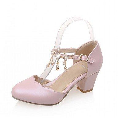 pwne Las Mujeres Sandalias De Verano Caen Club Zapatos Zapatos Formales Comfort Novedad Oficina Exterior De Piel Sintética Pu &Amp; Carrera Parte &Amp; Casual Vestido De Noche US5.5 / EU36 / UK3.5 / CN35