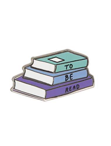 Out of Print To Be Read Enamel Pin