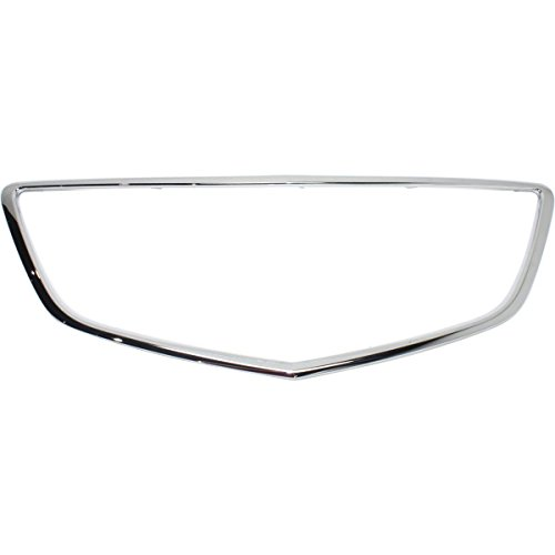 New Grille Trim Grill Chrome Acura MDX 2014-2016 AC1202103 - Acura Grill