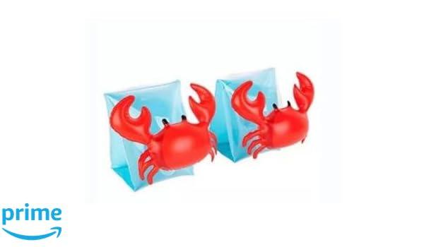 Eidyer Brazaletes inflables, anillo de brazo de natación, paquete de 2, flotadores inflables para niños para actividades de piscina o playa, ...