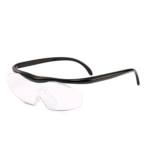Director of Maria Hansfree Magnifying Glasses for Overlay of Eyeglasses +1.8 Focus Roupe Smart Design (Black, Set)]()
