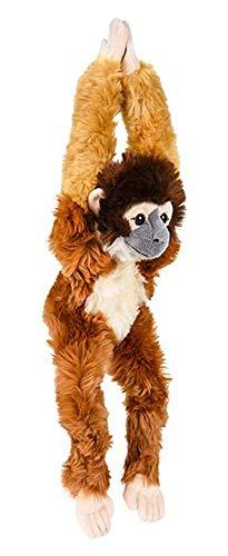 Wildlife Tree 18 Inch Hanging Stuffed Squirrel Monkey Plush Monkey