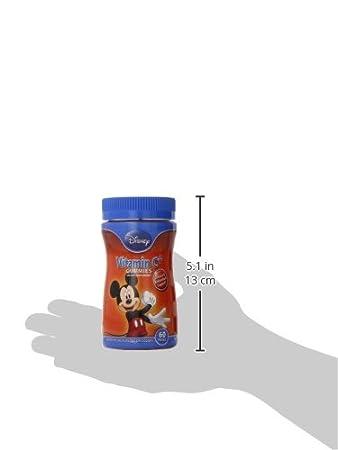 Mickey Vitamina C + Gomitas, 60 unidades - Disney: Amazon.es: Salud y cuidado personal