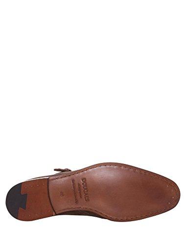 DOUCAL'S - Mocasines de ante para hombre marrón marrón