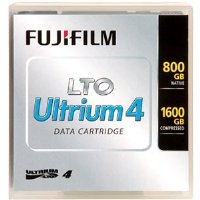 Ultrium LTO Ultrium 4 Cartridge, 800 GB/1600 GB Capacity, 12.65 mm, 820 m