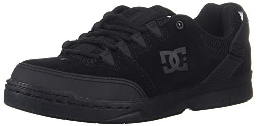 DC Men's Syntax Skate Shoe, Black, 6 D M US