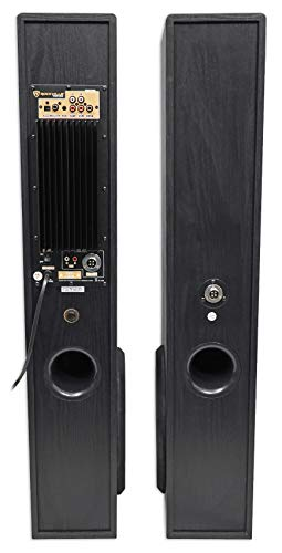 Rockville TM150B Black Home Theater System Tower Speakers 10'' Sub/Blueooth/USB by Rockville (Image #4)