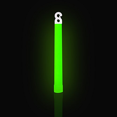 Be Ready Green Glow Sticks Industrial Grade 12 hour Illumination Emergency Safety Chemical Light Glow Sticks (12 Pack Green) …