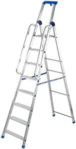 Gierre - Escalera Profesional Aluminio Stabila Pro (9 Peldaños): Amazon.es: Bricolaje y herramientas