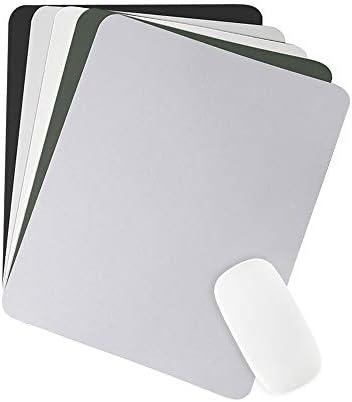 BUBM マウスパッド デスクパッド 27x21cm 片面タイプ (ブラック)