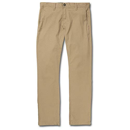 (Volcom Men's Frickin Modern Fit Stretch Chino Pant)