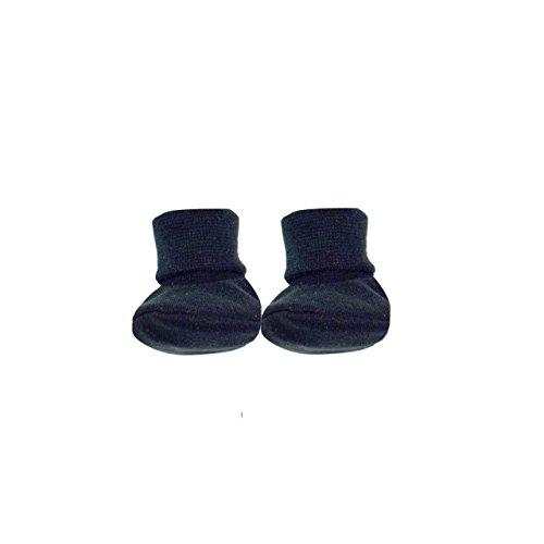 (Itty Bitty Baby Booties (Black, Preterm 3 (3-5lbs)))